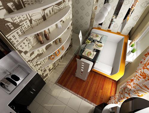 Дизайн квартир. Кухня