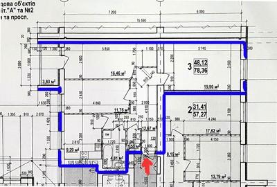 Продам 3 комнатную квартиру 78 кв.м. ЖК Мира 3