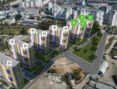схема расположения домов ЖК Левада 2