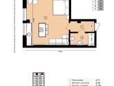 Urban One Sumskaya, планировка квартир
