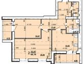ЖК Мира4, дом 8, 2 комнатная квартира