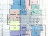 ЖК Левада, дом 14, план 2-16 этажа