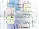 ЖК Левада, дом 14, план 1 этажа